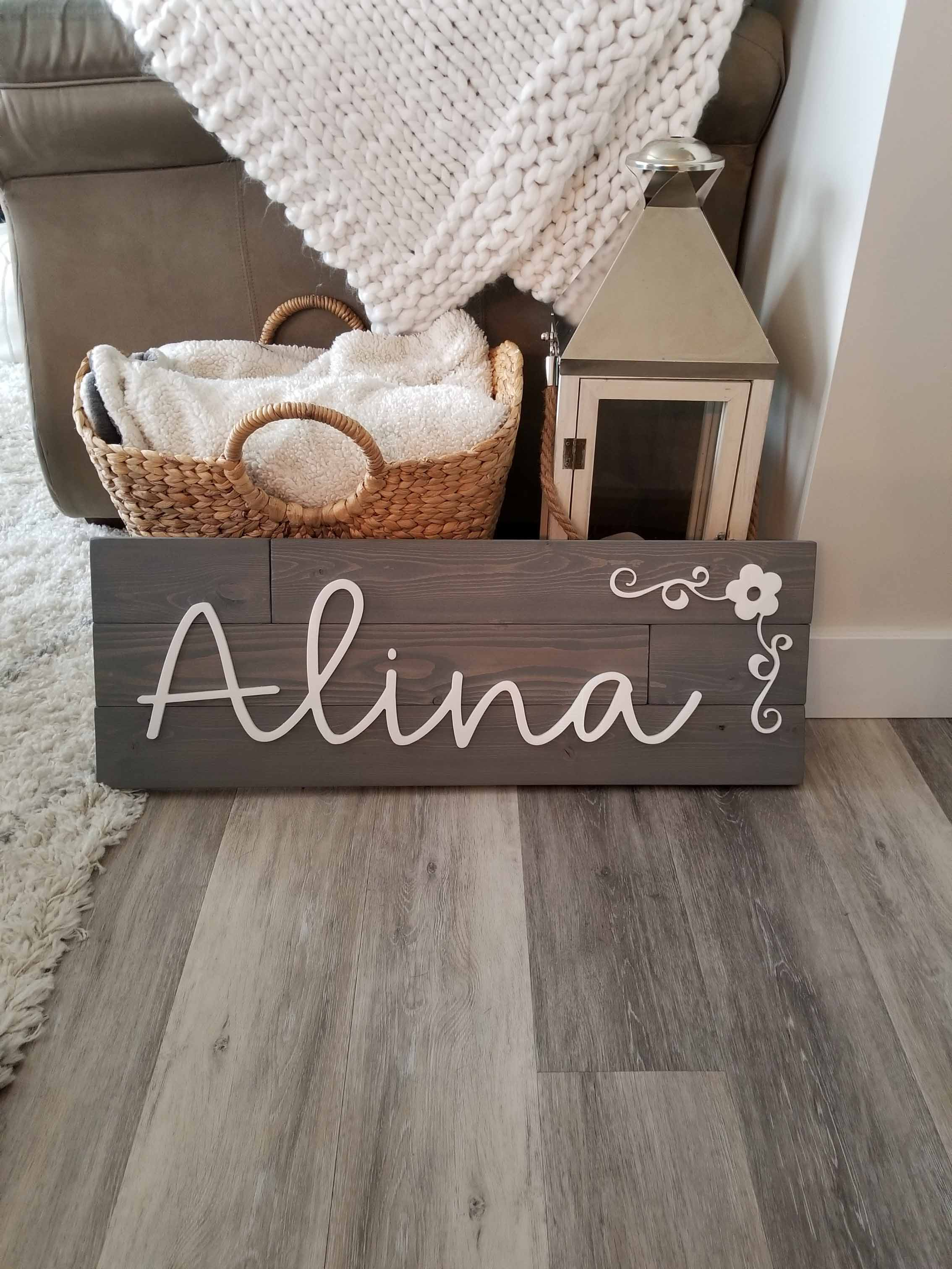 acrylic 3D name signs
