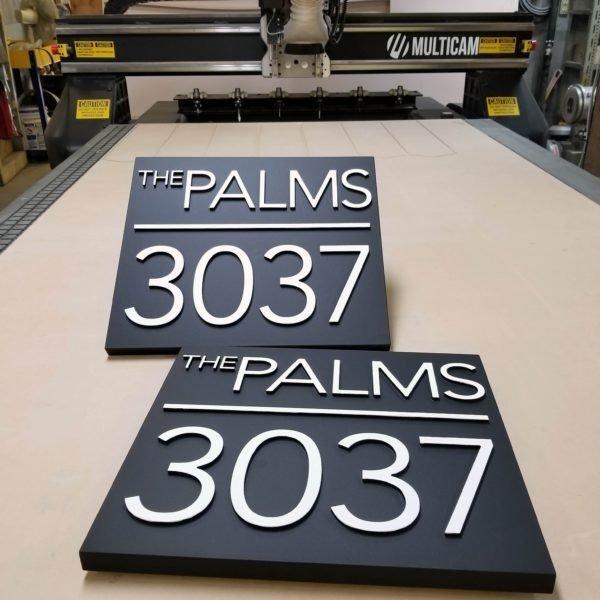 HDU custom signs