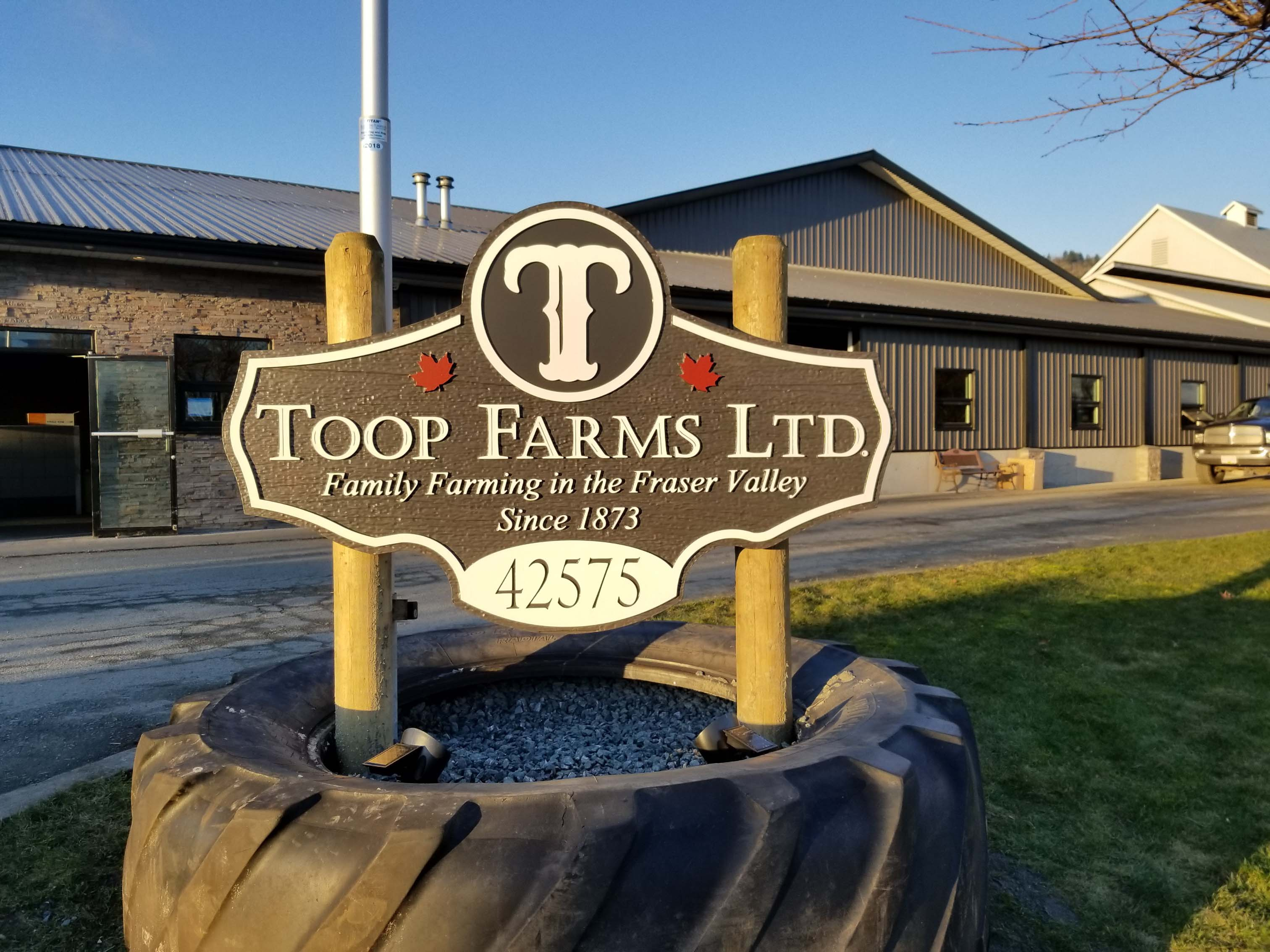 HDU Farm Sign
